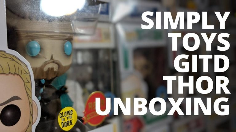 Unboxing: Simply Toys Asia Exclusive GITD Thor