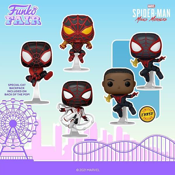 Spider Man Funko Pops