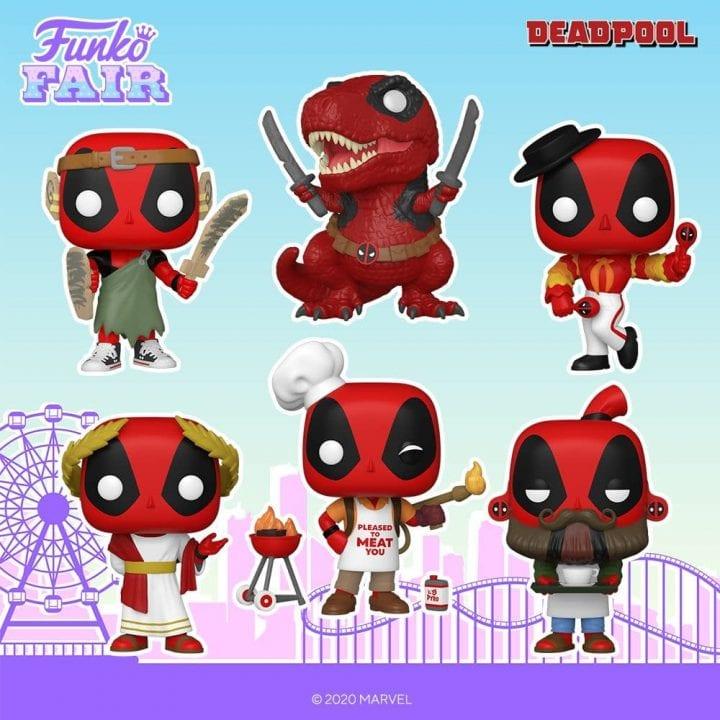Deadpool Funko Pops