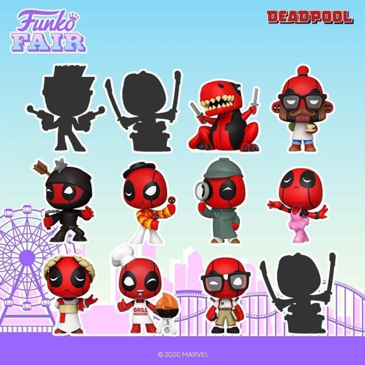 Deadpool Funko Mystery Minis