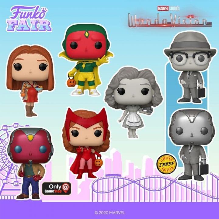 Wanda Vision Funko Pops