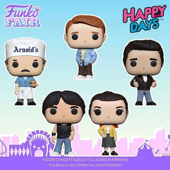 Happy Days Funko Pops
