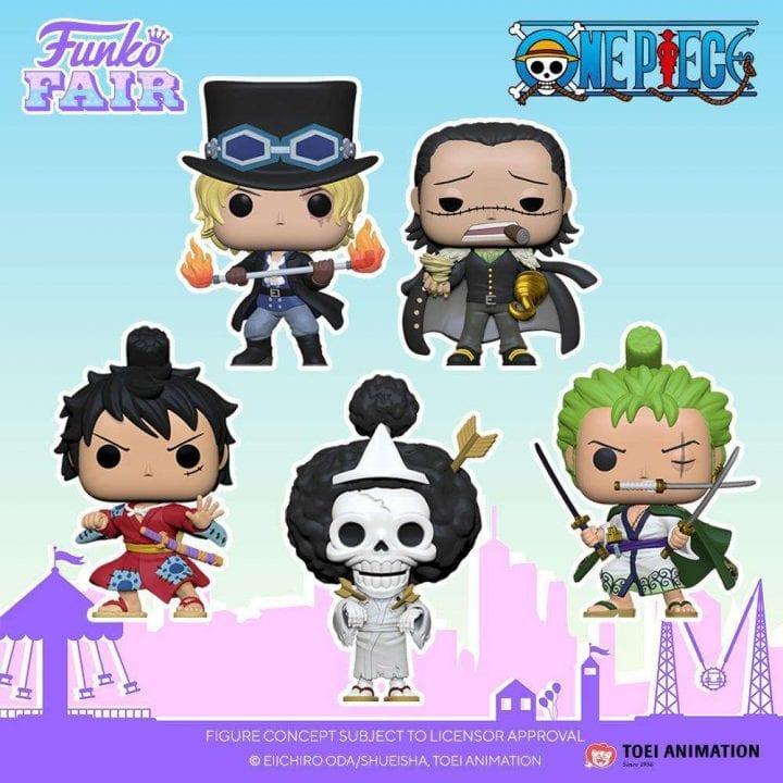 One Piece Funko Pops