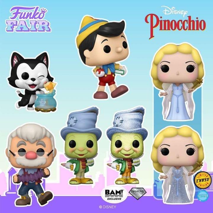 Pinocchio Funko Pops