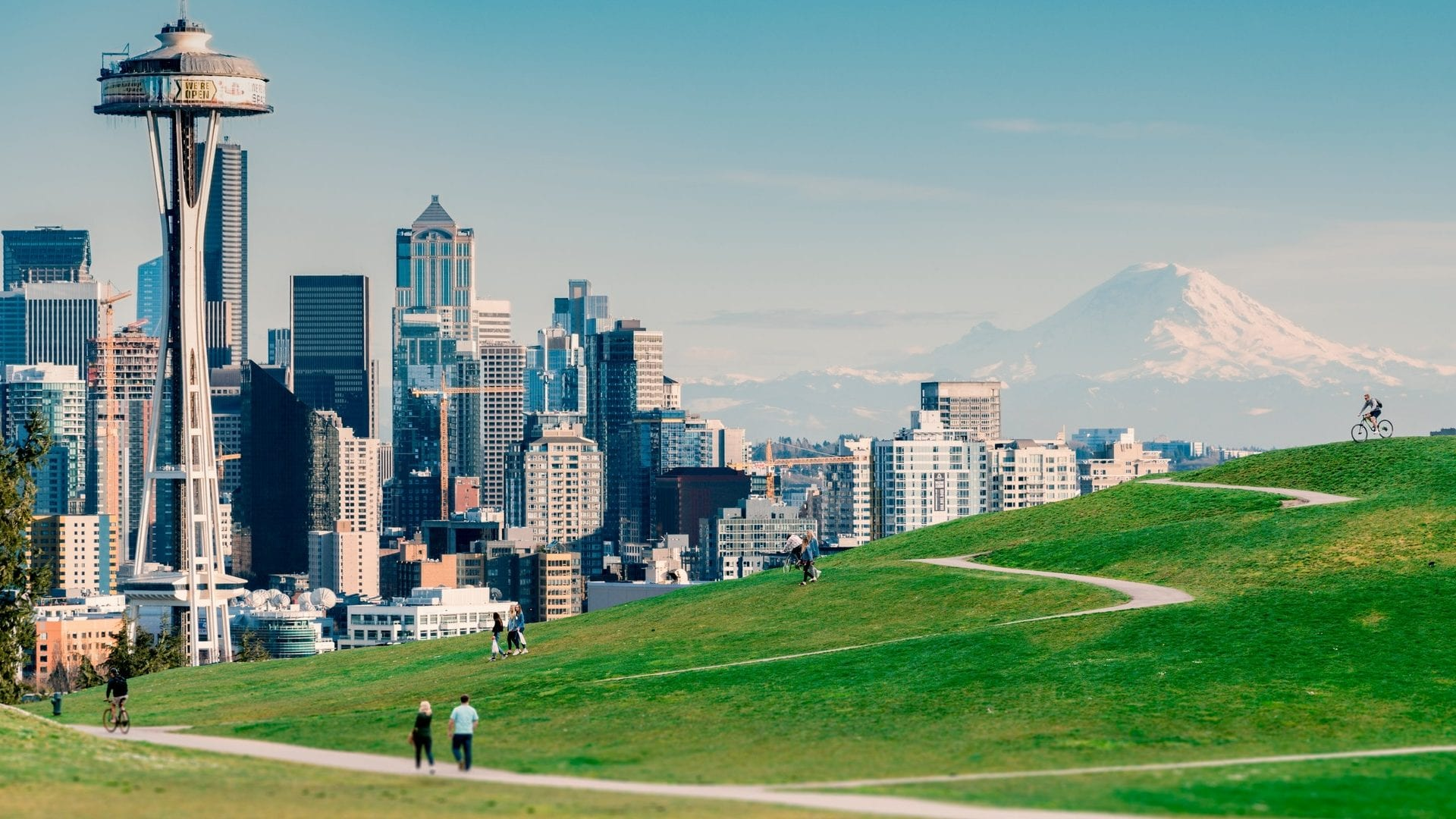Seattle summer view